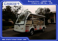Electric Powered 8 Seater Golf Cart Shuttle Car For Reception , Tourist Coach