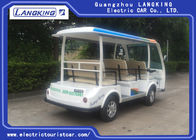 8 Seats Blue Eco Friendly Electric Tourist Car High Frequency Onboard Charger