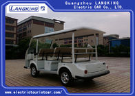 Small Electric Shuttle Bus With Roof & Windshield For Large Parks Playground