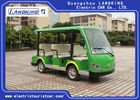 8 Seater Green Electric Tourist Car Mini Tour Bus 18% Climbing Ability
