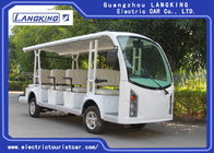 14 seats  Battery  Electric Shuttle Bus Sightseeing Car Chinese  Mini Bus for Hotel