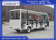 Large Park  / Resort Electric Shuttle Car 23 Seats 8~10h Recharge Time Y230-B