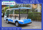 72v Electric Shuttle Car 8~10h Recharge Time High Impact Fiber Glass Body & Roof