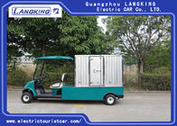80km Range Electric Club Car Electric Golf Cart 2 Seats With Cargo 48v / 3kw Motor