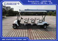 6V /170Ah Free Maintain Battery Electric Golf Club Cart With PC Windshield