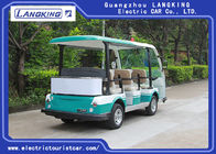 5kW AC Motor 8 Seats Electric Tourist Car Max Speed 28km/H For Public Area Transportation