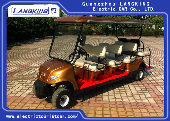 8 Passenge Electric Club Car For Hotel Reasort 80km Range HS کد 8703101900