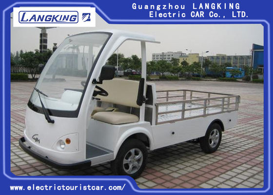 28km / h CE CertificateTwo Seater Electric Car، Electric Hotel Buggy Car With Cargo
